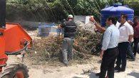 Samandağ Belediyesi,  Dal Öğütme Makinası Aldı