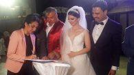 Demirdöven oğlunu evlendirdi