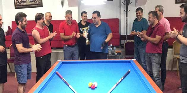 Bilardo Şampiyonu: Hakan Yaman