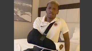 Diallo Şanssızlığı Kolu kırıldı