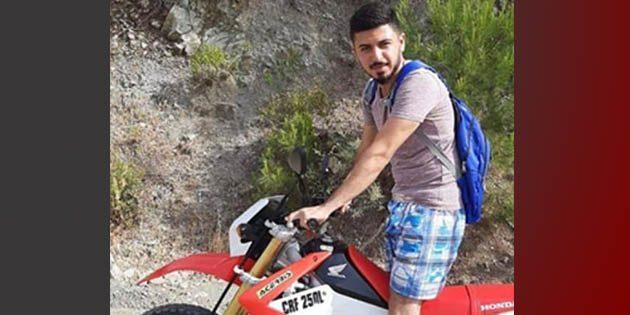 Arsuz'da motosiklet kazası