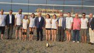 """İskenderun'da """"Kadın Plaj Voleybol"""" Turnuvası"""