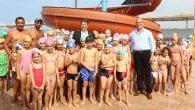 Samandağ'da yüzme kursları