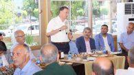 Savaş, Kırıkhan'da  Muhtarlarla Buluştu