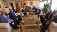 4 Vekil, 3 Başkan Ankara'da