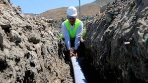 Tekebaşı'na yeni içme suyu şebekesi