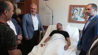 Belen Belediye Başkanı, Bayram'a hasta giriyor