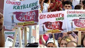 Antakya'da, Reyhanlı'daki mezar saldırılarına protesto: