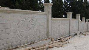 HBB'den mezarlığa ihata duvarı