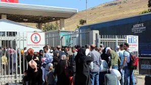 38 bin Suriyeli bayram için memleketine gitti