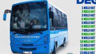 Halk Otobüsü  Numaraları Değişiyor