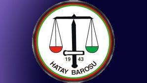 Hatay dahil 29 Baro ortak açıklaması