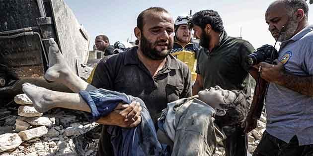 Teröristlerin elindeki İdlib…