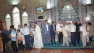 Kırıkhan'da Cami'de  Resmi Bayramlaşma