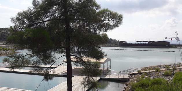 Karlısu Göleti'nin son ziyaretçisi