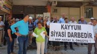 HDP'ye göre kayyum, Darbe!