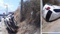 Antakya-Samandağ yolunda kaza