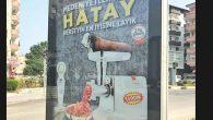 Reklam Afişine yoğun tepki