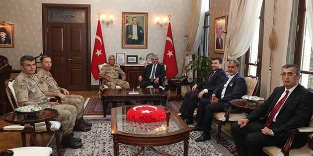 Jandarma Genel Komutanı Hatay'a geldi