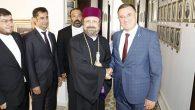 Başkan Savaş Ermeni Heyetini Ağırladı