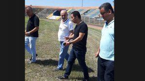Hatay'daki 2 saha BAL Ligi için hazır