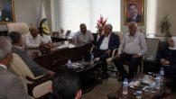 AKP yöneticileri ziyaretleri