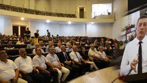 Bakan Selçuk Ankara'dan Katıldı