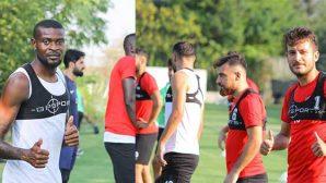 Son dakika transferleri, takımla idmanlara başladı…