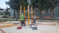 Defne'de  Parklara  Modernize