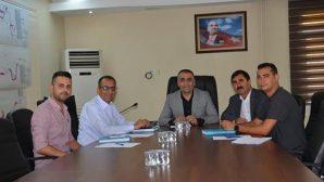 MHP'li Vekil, DSİ Şube Müdürüyle görüştü