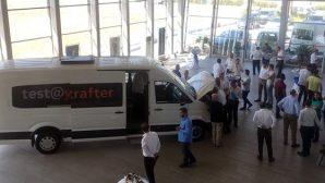 """Volkswagen, yeni aracı  """"CRAFTER'i tanıttı"""
