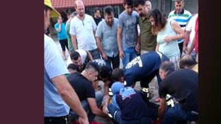Samandağ Koyunoğlu'nda kaza