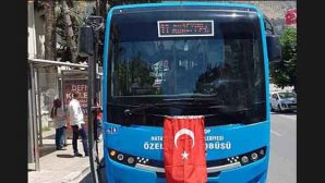 Halk otobüslerinin numaraları değişti.