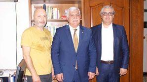 Tokdemir'den Gazetemize  Kutlama Ziyareti …