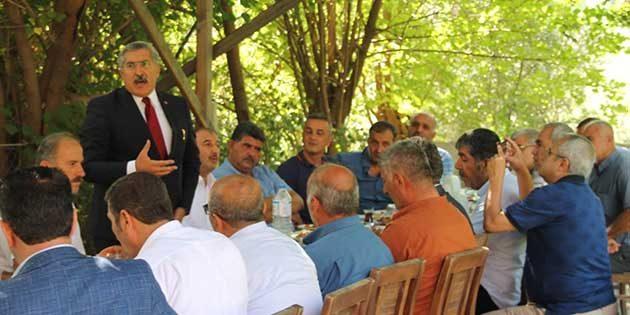 Milletvekili Yayman, besicilerle sorunlarını görüştü: