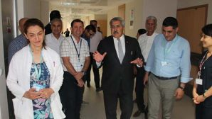 Yayman'dan Hastane Ziyareti