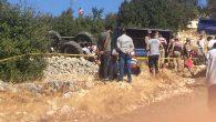 Yayladağı'nda traktör kazası