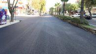 9 Günlük beton asfalt çalışmaları tamamlandı ve: