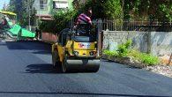 Armutlu'da asfalt çalışmaları …