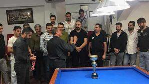 Bilardo Şampiyonu Yusuf Bakırcı