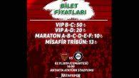 Hatay-Altay maçı biletleri satışa çıktı
