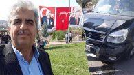 Turunçlu Muhtarı Muhsin Demirel kaza geçirdi