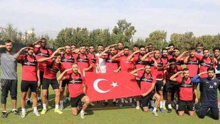 Hatayspor'lu Futbolculardan