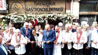 """İskenderun'da  """"Gastronomi  Derneği"""" açıldı"""