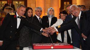96.yıl pastası