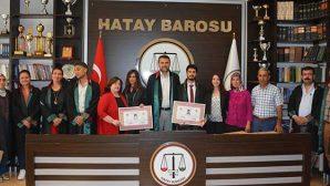 Baro başkanı, 10 gün sonra ilk kez adliyeye gitti