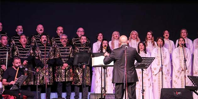 Türk-Alman koroları ortak konseri