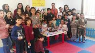 Suriyeli çocuklarla oyun
