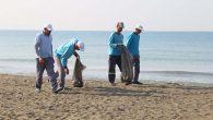 HBB sahillerden 900 ton atık topladı …