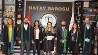 """Kadın Avukatlar, """"Kadına Şiddeti"""" protesto etti:"""